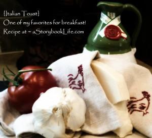 Italian Toast Recipe