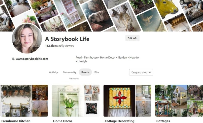 Pinterest Ideas from @astorybooklife for your home and garden